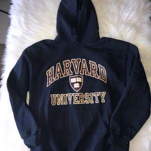 Harvard University Hoodie In Navy Blue (Unisex)
